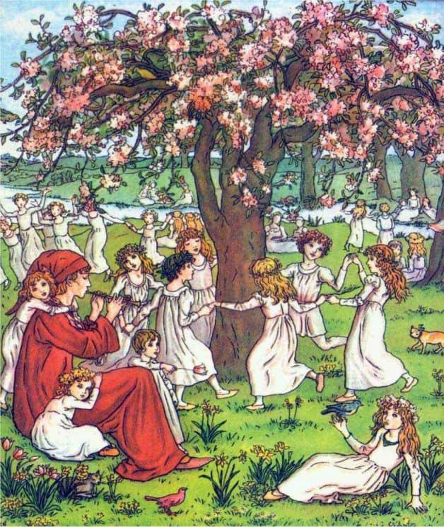 Anak-anak Hameln The Pied Piper Legenda Jerman oleh Brothers Grimm