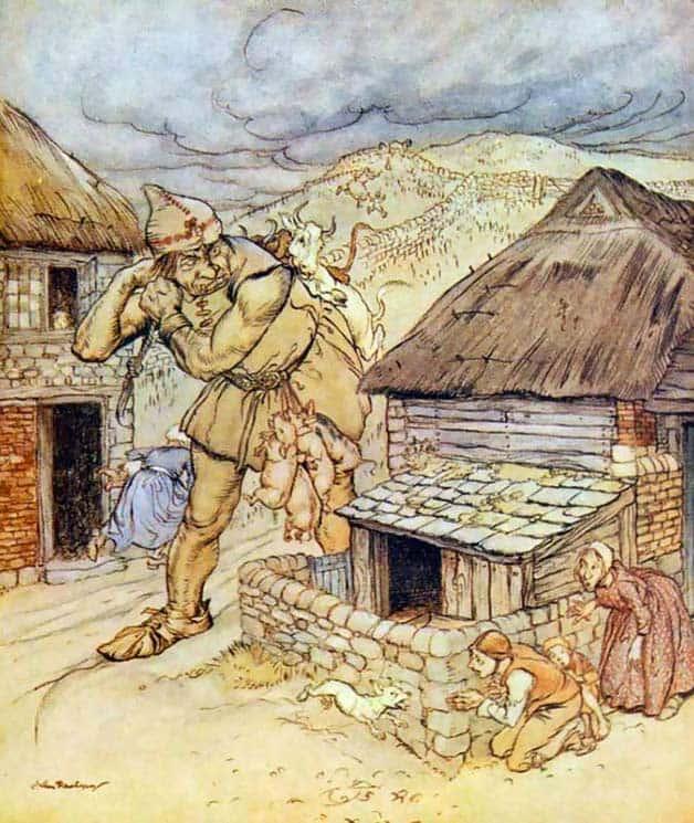 Cerita Anak Pendek Brothers Grimm Raksasa yang Buta