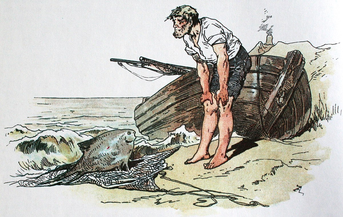 Cerita Pendek Anak Nelayan dan Istrinya