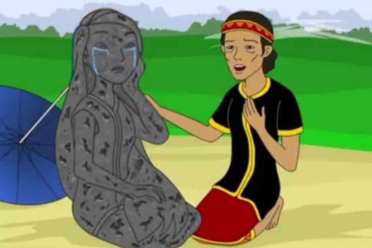 Legenda Batu Menangis, Kisah Putri yang Durhaka pada Ibunya