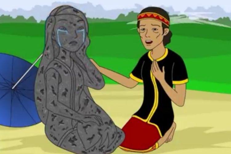 Mengupas Alur Legenda Batu Menangis, Cerita Rakyat Kalimantan Barat