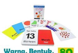 Sudah Tahu 7 Manfaat Mainan Edukatif Anak Flashcard?