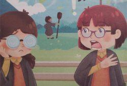 Cerita Anak Dongeng Populer Penyihir Berkacamata