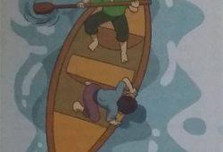 Cerita Anak Singkat Cina : Pedang yang jatuh ke air