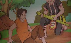Cerita Bergambar Untuk Anak : Kisah Ambun dan Rimbun