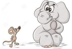 Cerita Dongeng Anak Fabel : Tikus Berjiwa Besar