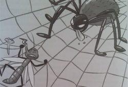 Cerita Dongeng Anak Nusantara : Fabel Nyamuk Sombong