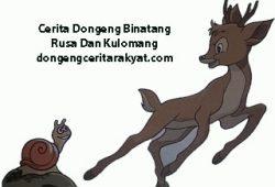 Cerita Dongeng Binatang : Rusa Dan Kulomang