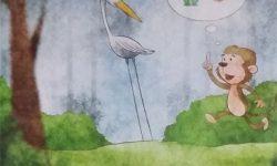 Cerita Dongeng Binatang Kera Yang Sering Menipu (Fabel Anak)