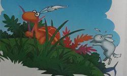Cerita Dongeng Hewan : Kura-Kura Balap Lari Dengan Kelinci