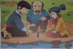 Cerita Dongeng Menarik Jepang : Pendekar Sebesar Apel