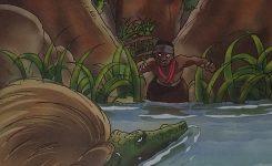 Cerita Dongeng Rakyat Dan Fabel Dari Papua Towjatuwa dan Buaya Ajaib