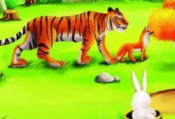 Cerita Fabel Pendek Lomba Lari Harimau dan Rubah