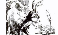 Cerita Hewan Fabel Dongeng Rusa dan Kura-Kura