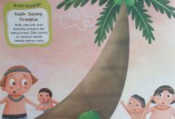 Cerita Rakyat Amerika Serikat : Asal Pohon Kelapa