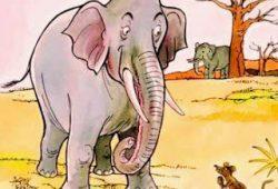 Cerita Rakyat Fabel : Dongeng Gajah dan Tikus