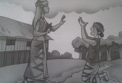 Cerita Rakyat Legenda Batu Menangis