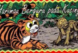 Cerita Rakyat Singkat : Harimau Berguru Pada Kucing