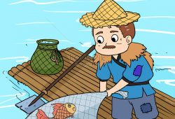 Cerpen Rakyat Singkat : Kisah Nelayan dan Ikan Ajaib