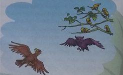 Contoh Cerita Dongeng Rakyat Burung Hantu