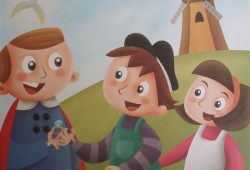 Dongeng Cerita Anak Belanda : Wilem dan Irene