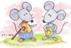 Dongeng Cerita Anak Persahabatan Tikus Hitam dan Tikus Putih