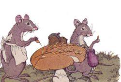 Cerita Fabel Anak : Tikus yang Sangat Rajin