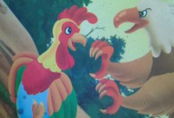 Dongeng Cerpen Bergambar : Kisah Ayam dan Elang