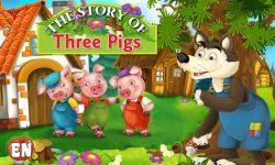 Dongeng Tentang Binatang : Kisah Tiga Babi