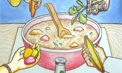 Dongeng Untuk Anak Anak : Sup Paku Yang Lezat