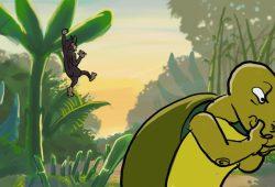 Dongeng Fabel Cerita Kura-Kura dan Monyet