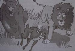 Kumpulan Cerita Anak Nusantara : Fabel Singa dan Beruang