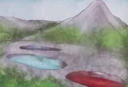 Cerita Legenda Telaga Warna Tiga Dongeng Rakyat Sumba