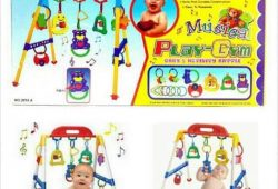 Mainan Edukatif Bayi Umur 1 – 18 bulan : Baby Musical Play Gym