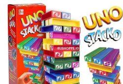 Mainan Edukatif Anak 5 tahun : Uno Stacko (Kesabaran + Kecerdasan)
