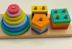 Mainan Edukatif Anak Puzzle Kayu Balok Murah Merangsang Kecerdasan