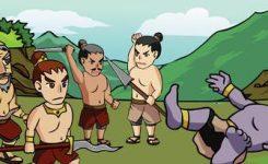 Prabu Baka dapat dikalahkanBandung Bandawasa dalan cerita rakyat indonesia