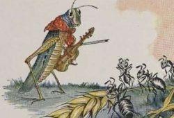Cerita Fabel Nusantara : Belalang Sombong dan Semut