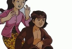 Cerita Rakyat Tangkuban Perahu : Dongeng Sangkuriang