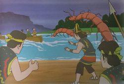 Cerita Rakyat Nusantara Bergambar : Asal Mula Danau Lipan