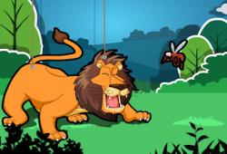 kumpulan dongeng cerita rakyat : Singa dan Nyamuk
