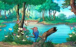 sungai luas yang harus disebrangi untuk bertemu ande-ande lumut